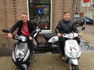 scooter rijbewijs halen bij K-Drive Gorinchem